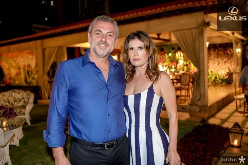Carlos França e Karla Nogueira