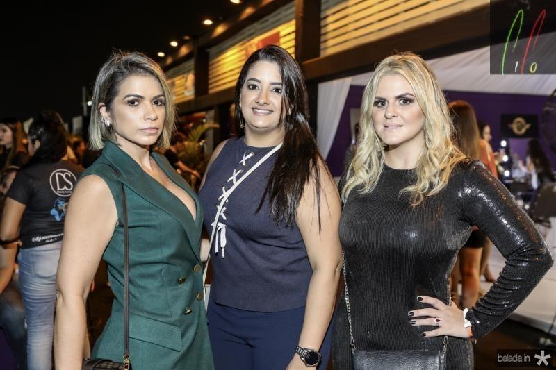 Alzira Bezerra, Andreza Freitas e Iana Melo