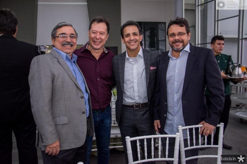Roberto Sergio, Carlos Fujita, Raul Amaral e Ricardo Teixeira