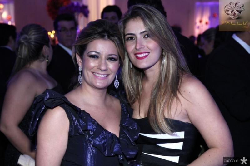 Tatiana Luna e Melina Dias