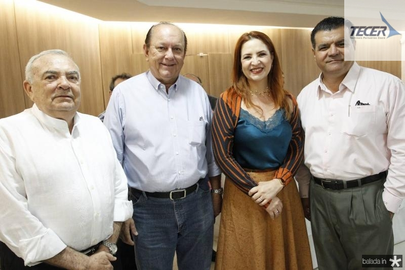 Julio Santiago, Rafael Leal, Enid Camara e Odmar Feitosa