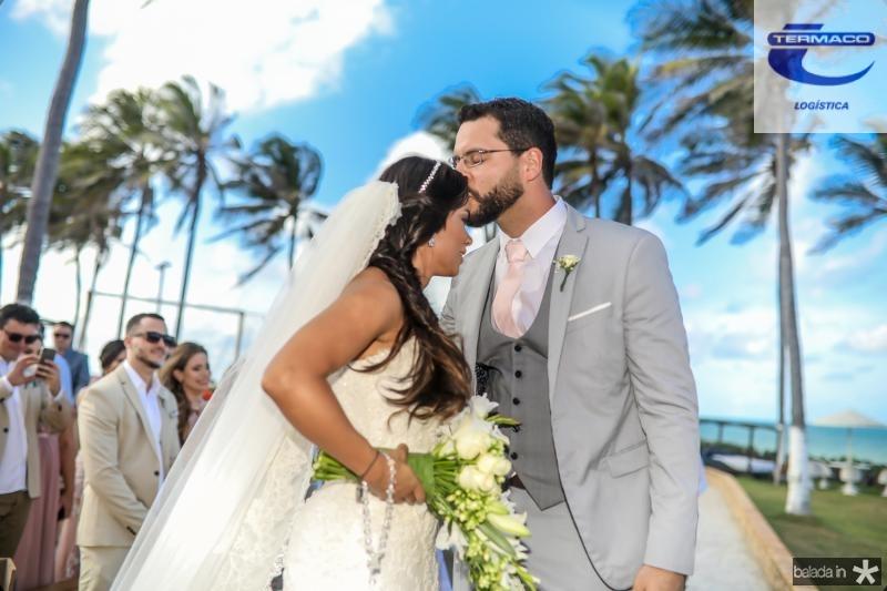 Veruska e Tiago Lobo (