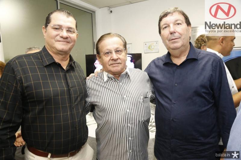 Jamiro Dias, Alvaro Andrade e Heitor Studart