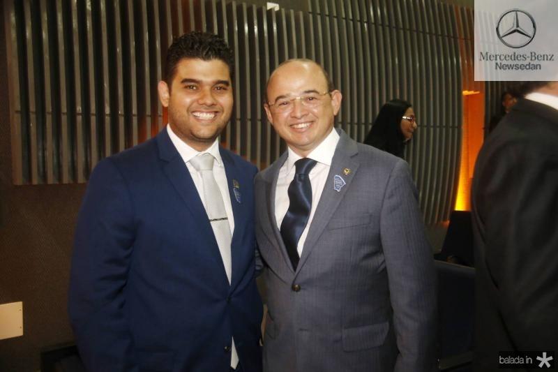 David Benevides e Sergio Aguiar