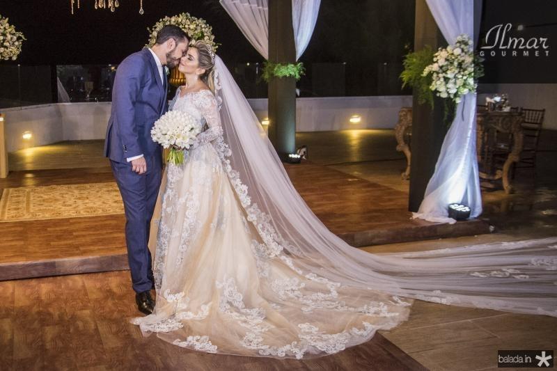 Roberto Cabral e Diandra Alves (