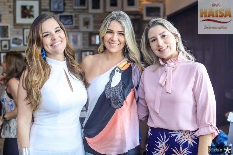 Ana Paula Domene, Jeritza Gurgel e Jessica Rocha