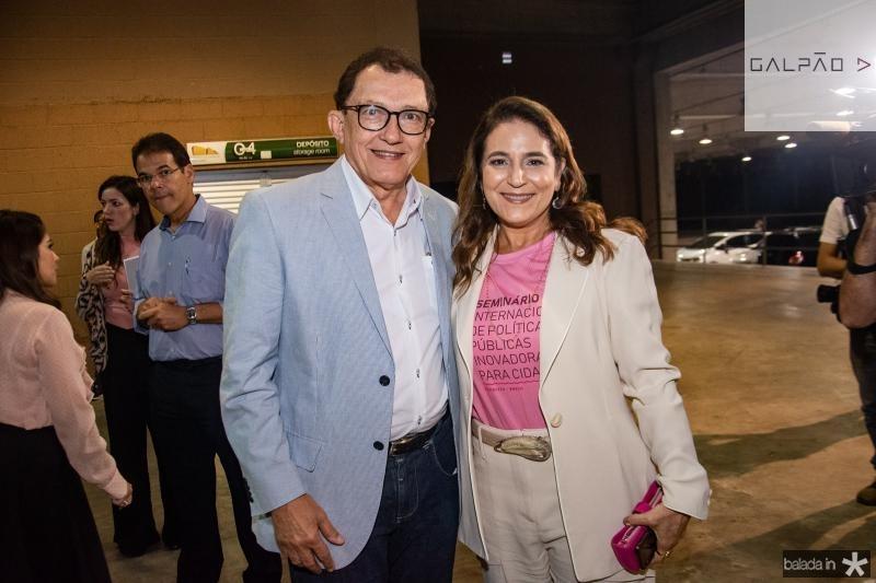 Elpidio Nogueira e Patricia Macedo