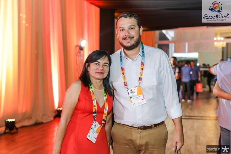 Marizete Brito e Stevao Vieira