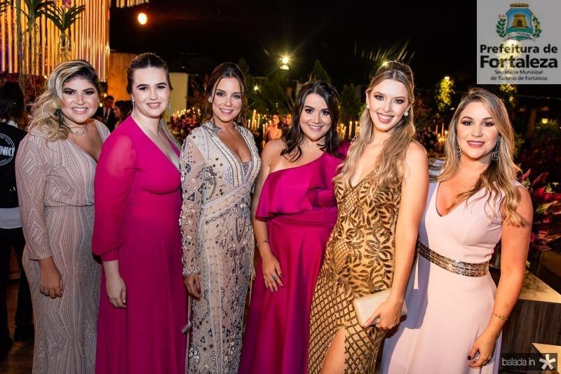 Gabriela Costa, Gabriele Castanheira, Fernanda Levy, Juliana Dias, Bruna Vasconcelos e Fernanda Macedo