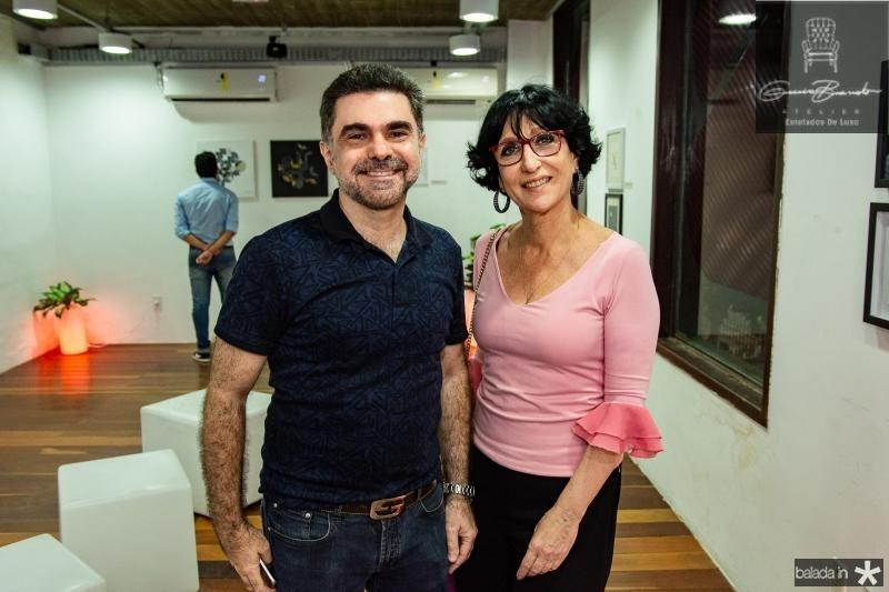 Isaac Furtado e Denise Matta