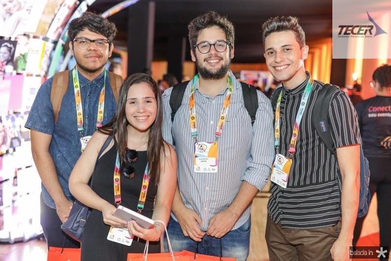 Daniel Vasconcelos, Sarah Albuquerque, Lucas Bruno e Wilker Meireles