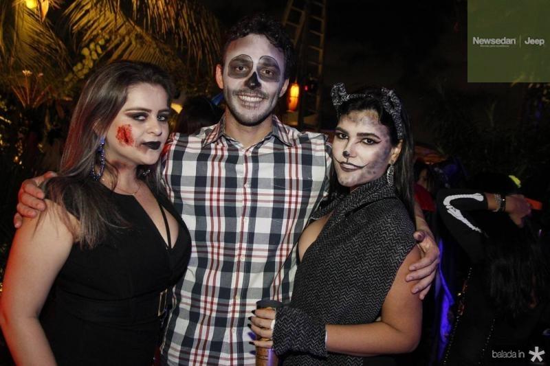 Jane Amancio, Fabio Miranda e Kelly Monteiro