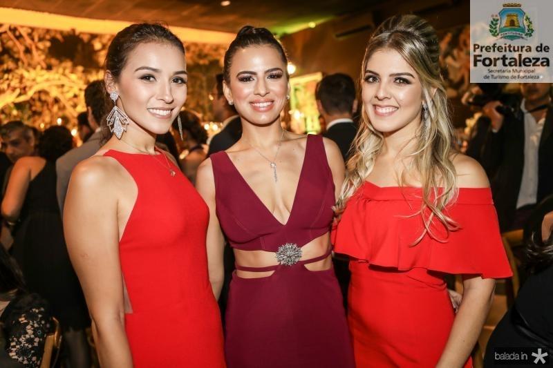 Emanoela Bierman, Manoela Cidrao e Lelia Benevides