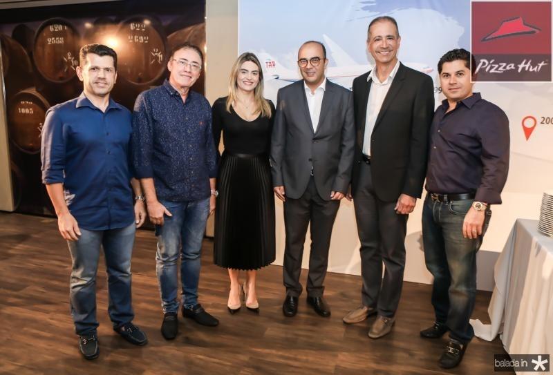 Erick Vasconcelos, Darlan Leite, Denise Carra, Adriano Araujo, Regis Medeiros e Pompeu Vasconcelos