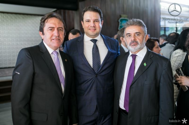Adail Junior, Leo Couto e Francisco Azevedo