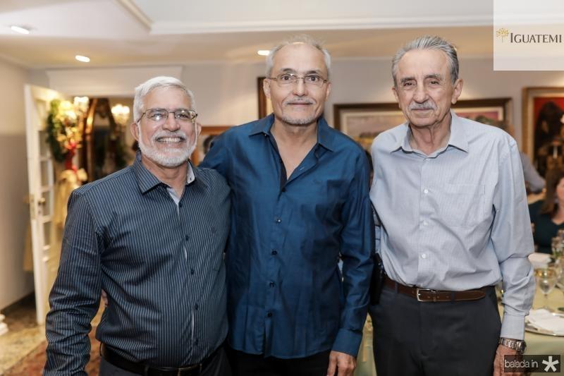 Manoel Teofilo, Glauco Lobo e Crizanto Almeida