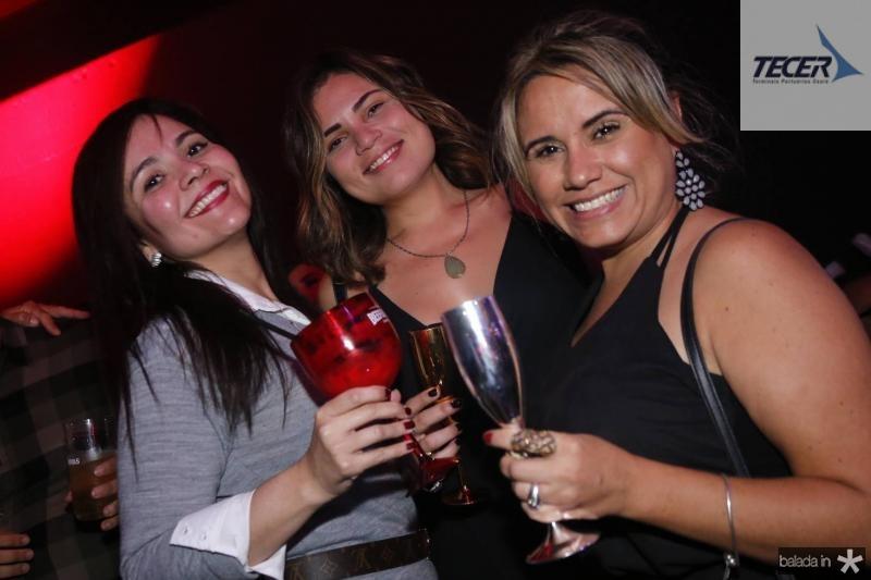 Alessandra Carvalho, Fabiola Lopes e Alessandra Carvalho