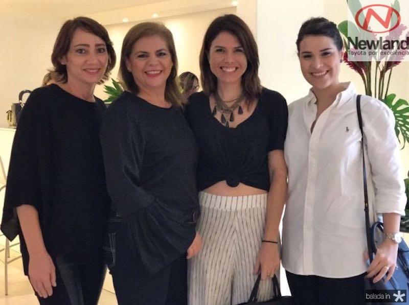 Erilane Maia, Helena Carvalho, Luana Bittecourt e Mila Bittencourt