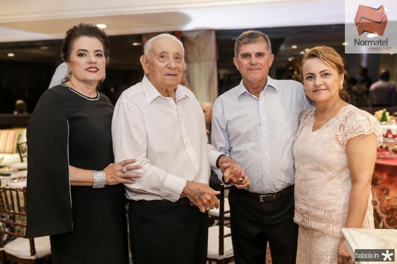 Silvana e Adauto Bezerra, Guilherme e Silvana Teofilo