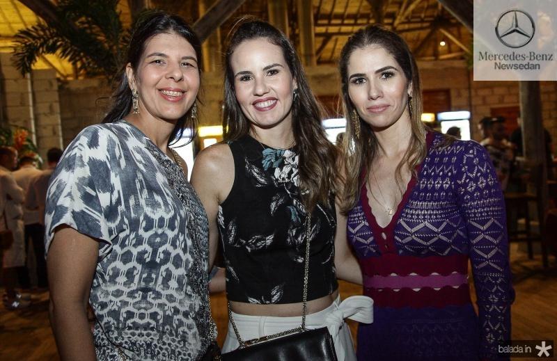 Juliana Fiuza, Ediane Camara e Caroline Borges