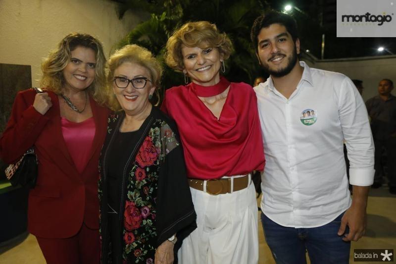 Valeska Rolim, Socorro, Joseana e Pedro Franca