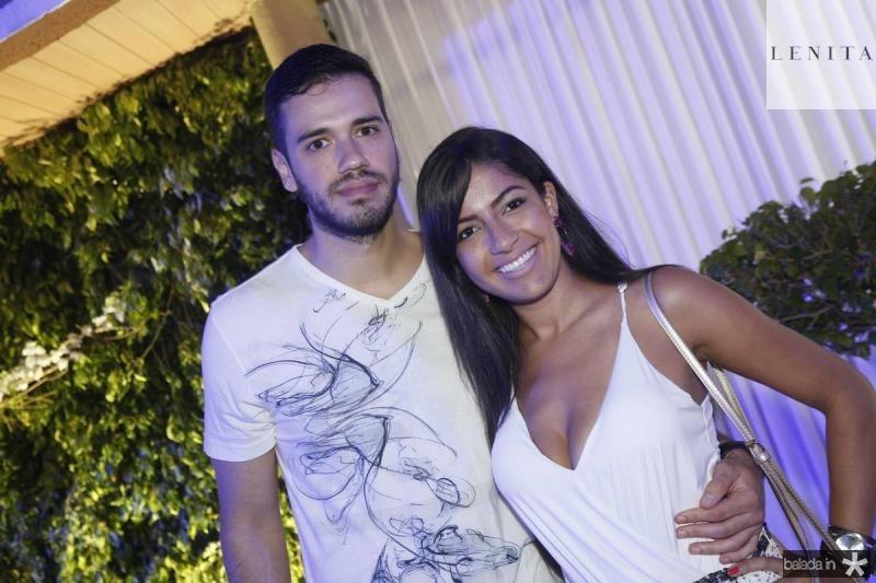 Matheus Lion e Adriana Carolina