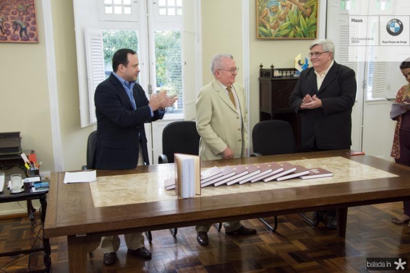 Igor Queiroz, Henry Campos e Euripedes Chaves Junior