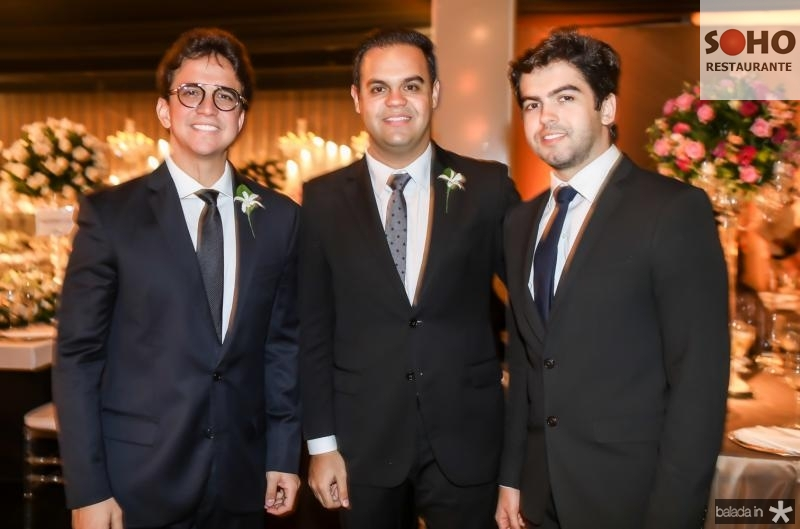 Panta Neto, Ivo Dias e Victor Vasconcelos
