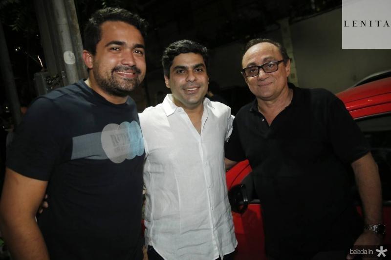 Yuri Guerra, Queiroz Filho e Tin Gomes