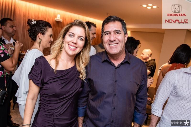 Ticiana Queiroz Rolim e Luiz Gastao Bittencourt