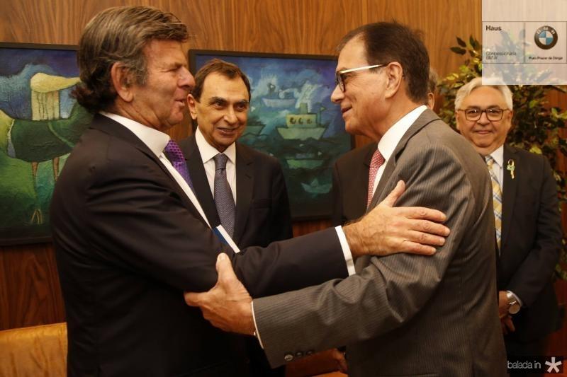 Luiz Fux, Melhin Chalhub e Beto Studart