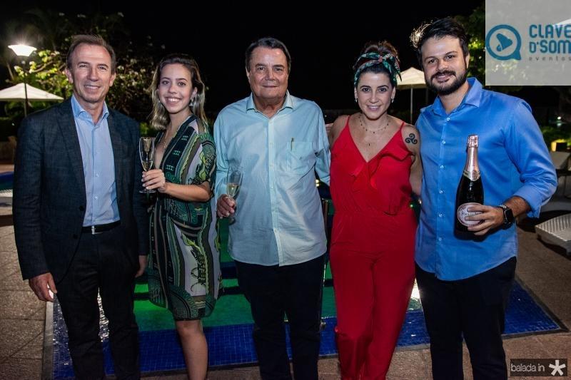Philippe Godefroit, Victoria Sarro, Dionisio Barsi, Joana Hellmeister e Andre The
