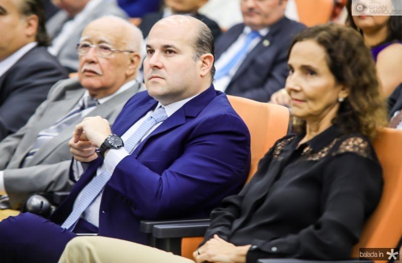 Ubiratan Aguiar, Roberto Claudio e Izolda Cela