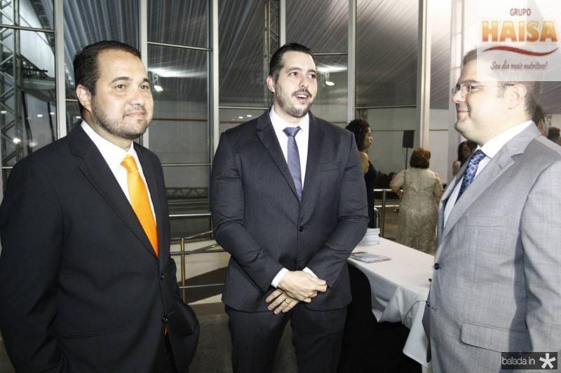 Edinardo Barros, Tiago Leal e Edson Queiroz