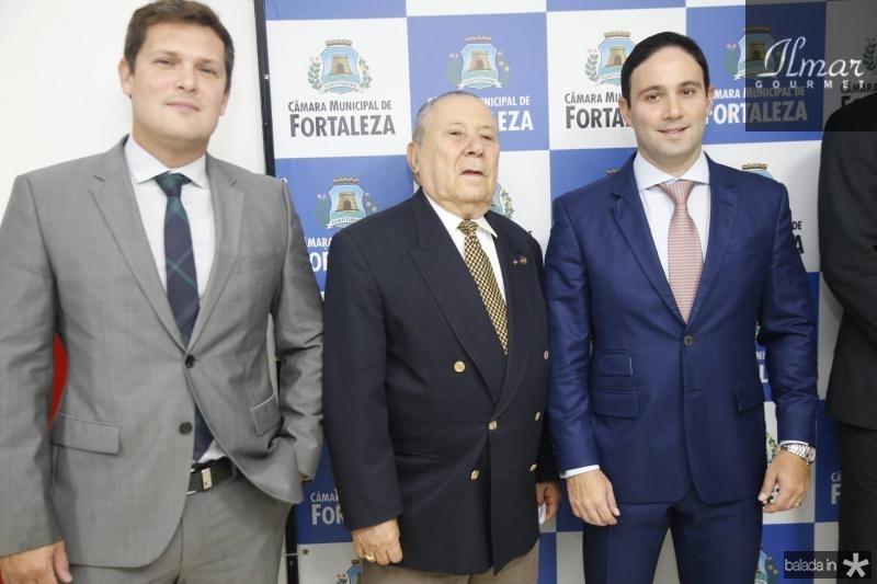 Joao Rafael, Idalmir Feitosa e Thiago Asfor