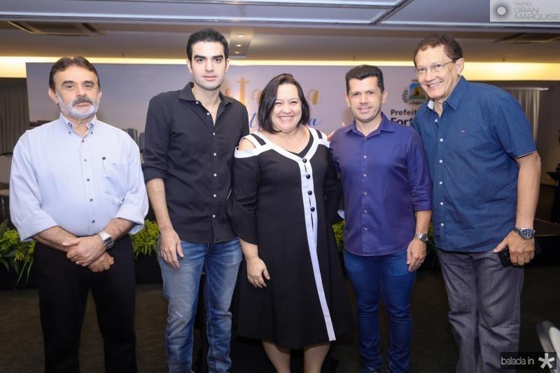 Azevedo Vieira, Rodrigo Nogueira, Norma Zelia, Erick Vasconcelos e Elpidio Nogueira