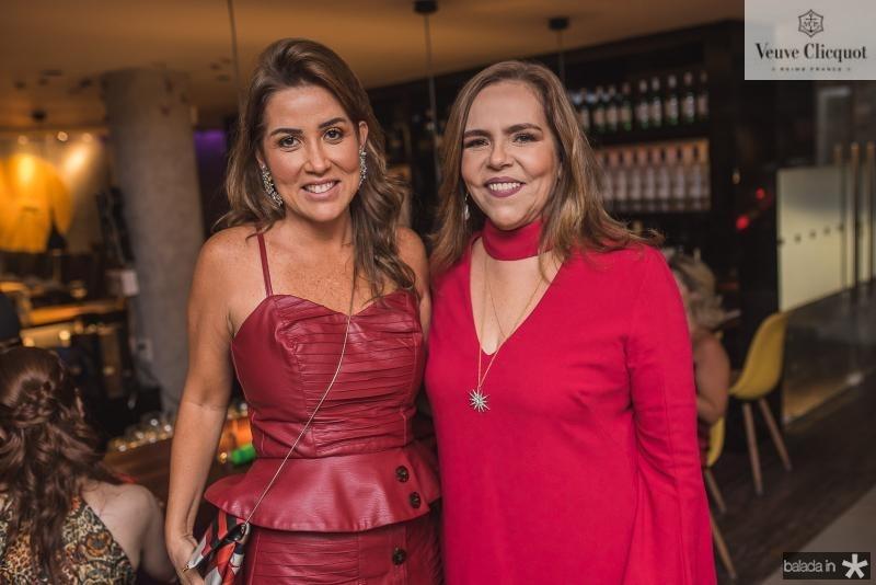 Ana Vladia Barreira e Ailza Ventura