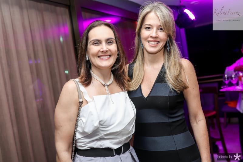 Ana Bossard e Vanessa Veras