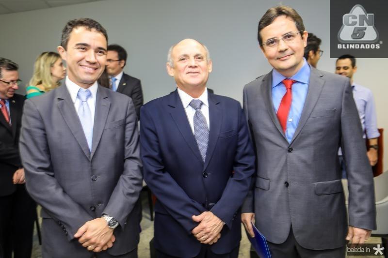 Placido Rios, Gladyson Pontes e Edilberto Pontes