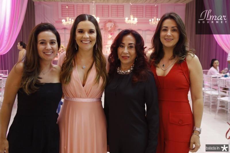 Claudiane Loureiro, Ana Paula Domene, Liege Rabelo e Georgia Bezerra