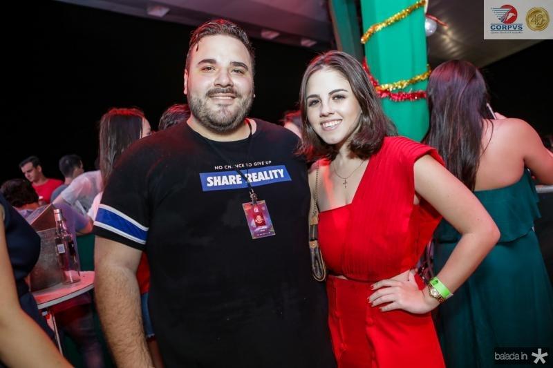 Lucas Coelho e Lara Idelfonço