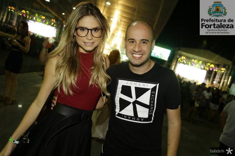 Karla Sena e Carlos Massud