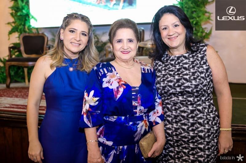 Patriciana, Aurucelia e Rosilandia Queiros