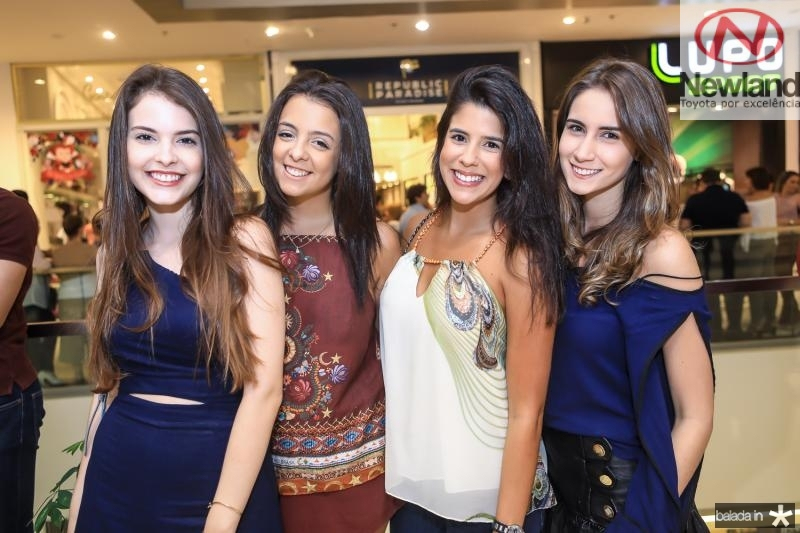 Mariana Rocha, Clarissa Brandao, Marcela Pinto e Vivian Cavalcante