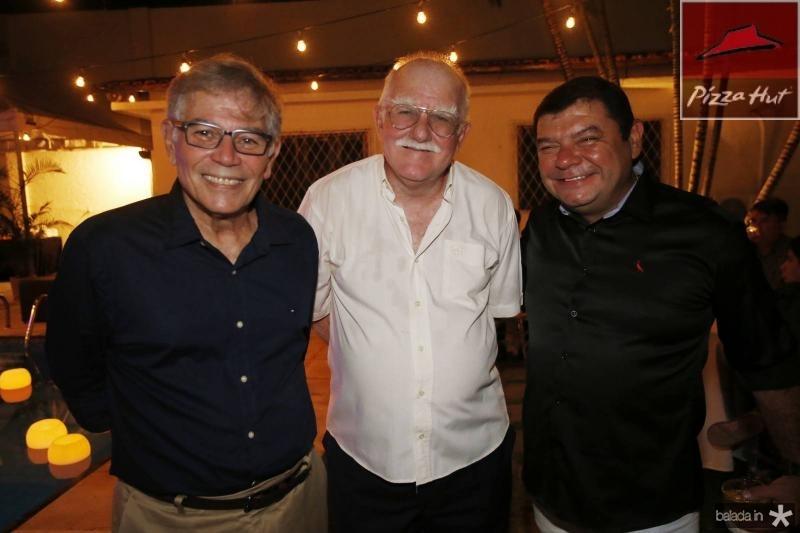 Roberto Lima, Elis Oberg e Eduardo Flexa