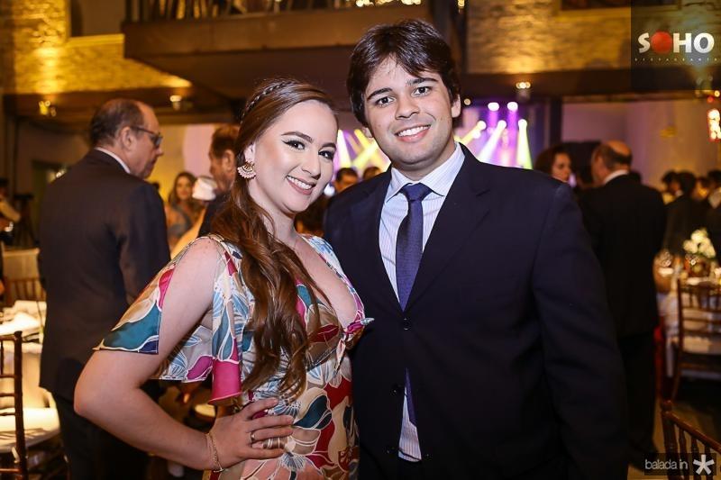 Georgia Pinheiro e Vitor Gentil