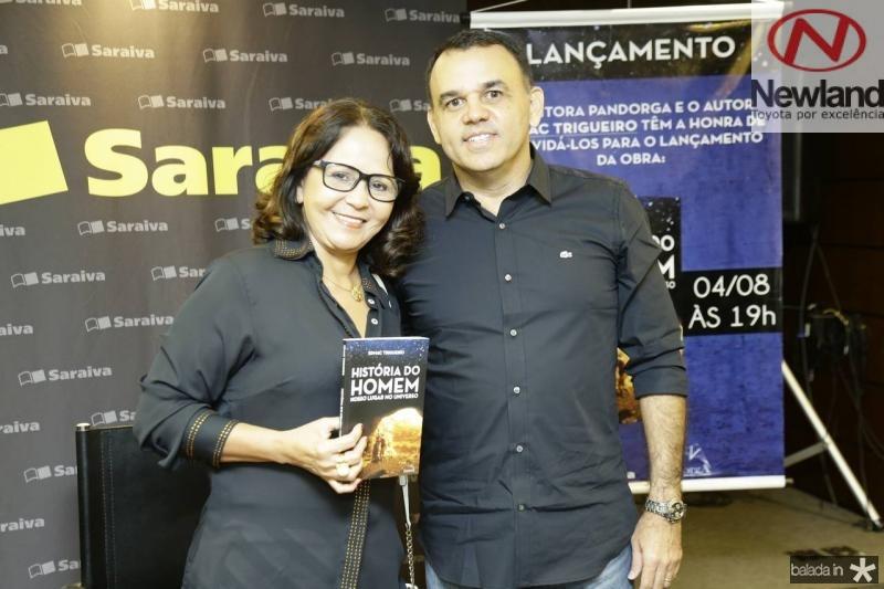 Ivanildes Feitosa e Edmac Trigueiro