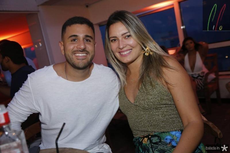 Joaquim Correia e Livia Macedo