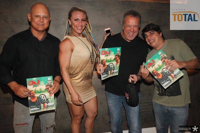 Lucio e Emmanuelle Figueiredo, Rodrigo Vieira e Rodrigo Filing