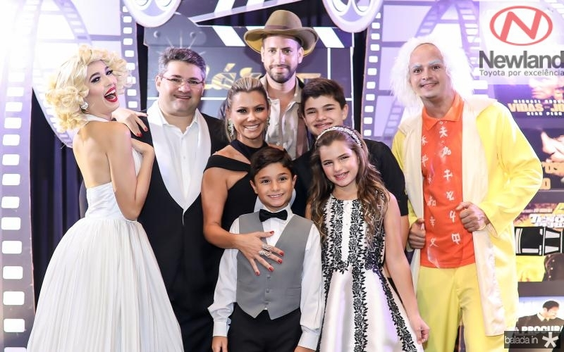 Mario, Vanessa, Deusmar, Pedro e Natalia Queiros
